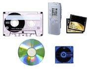 テープからICレコーダー等最新メディアまで対応
